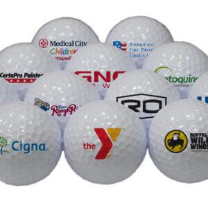 Golfbolde med tryk