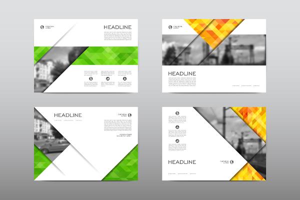brochure med tryk