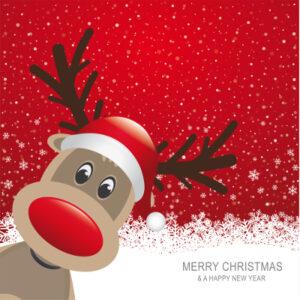 julekort med tryk