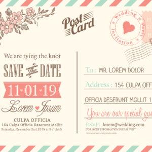 postkort med tryk