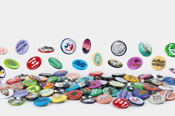 57 mm badge